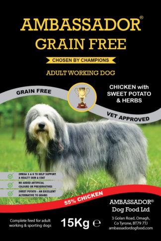 Ambassador Grain Free Chicken Dog Food
