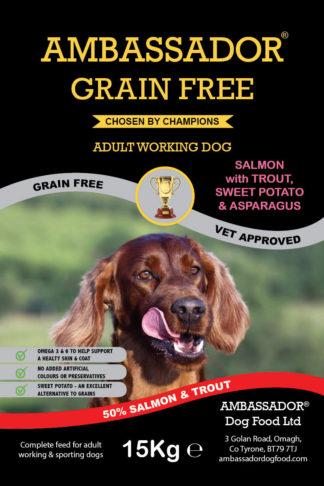 Ambassador Grain Free Salmon Dog Food