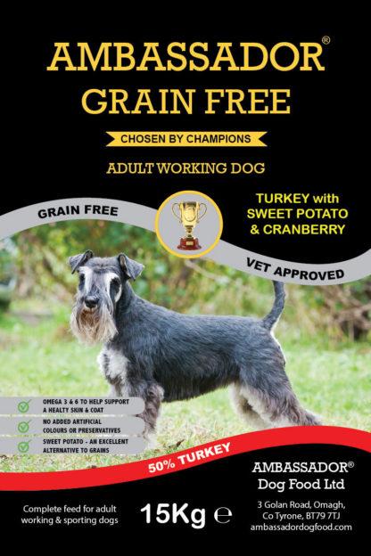 Ambassador Grain Free Turkey Dog Food