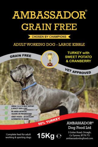 Ambassador Grain Free Turkey Large Dog Food