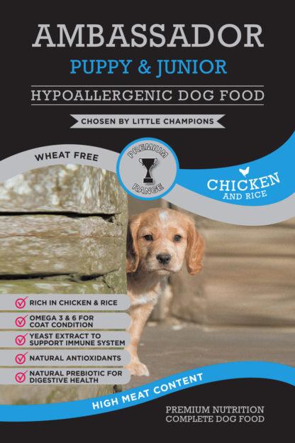 Ambassador Hypoallergenic Puppy Food